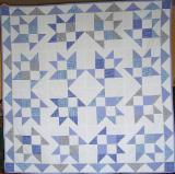 Pled dla chłopczyka, istna bonanza pół-trójkątów! Bordiura dla odmiany z ćwierć-trójkątów.